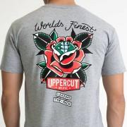 Uppercut Deluxe Men's World's Finest T-Shirt - Grey - M - Grey