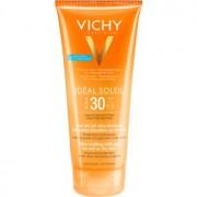 Vichy Idéal Soleil ултра-топящ млечен гел за влажна и суха кожа SPF 30 200 мл.