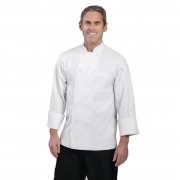 Chef Works Unisex Le Mans Chefs Jacket White 2XL Size: XXL