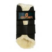 Kentucky Horsewear Kentucky Allround beschermer Achterbeen Leder - black - Size: FULL