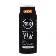 Nivea Men Active Clean šampon pro všechny typy vlasů 250 ml pro muže