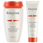Kerastase Kérastase Nutritive Set - Bain Satin 1 250ml + Nectar Thermique 150ml