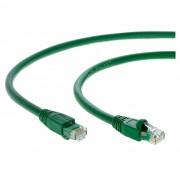 Cablu CAT6A SSTP 15 m Verde