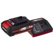 Set baterija i punjač Einhell Power-X-Change 18V 2,0 Ah Starter-Kit, 4512040