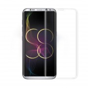 Mica Cristal Templado Para Samsung G955 Galaxy S8 Plus Curva - Transparente