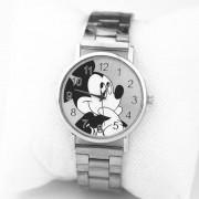 Hot Mickey Mouse brand women watch stylish stainless steel mesh watch casual quartz watch Girl gift children watch reloj mujer