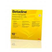 Meda Pharma Spa Meda Betadine 10 Garze Impregnate 10x10cm