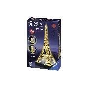 Eiffel torony - 3D LED puzzle, világító