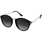 HH Unisex UV Protected Round Stylish Mercury Sunglasses For Men Women Boys Girls