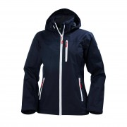 Helly Hansen Womens Crew Hooded Jacket M Navy