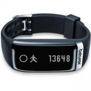 Смарт часовник Beurer AS 87 Activity sensor, Bluetooth, notifications for calls, SMS sleep traking-analysis, alarm,move remind, Черен, 67656_BEU