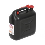 Canistra plastic pentru combustibili Hünersdorff 10L, certificata TÜV, neagra