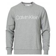 Calvin Klein Front Logo Sweatshirt Mid Grey Heather
