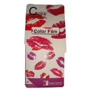 Folie protectie cu design iPhone 5 - Color film ( fata + spate )