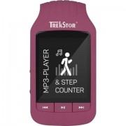 Trekstor MP3-Player TrekStor® i.Beat jump 8 GB Rosso Bluetooth®, Clip di fissaggio, Conta passi