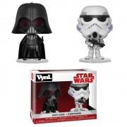 Vynl. Star Wars Empire Strikes Back Darth Vader and Stormtrooper Vynl.