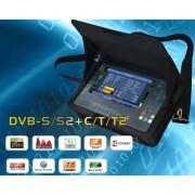 X Finder DVBS/2-DVBT/2 DVBC műszer modul+conax olvasóval
