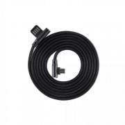 Cavo Micro USB Angolato 90° USB2.0/MicroUsb 1.5m Nero