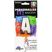 Anagram International Letter a Quad Package Balloon 18 NA