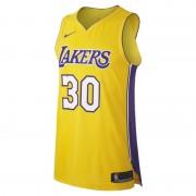 Maillot connecté Nike NBA Julius Randle Icon Edition Authentic (Los Angeles Lakers) pour Homme - Jaune
