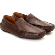 Clarks Ashmont Race Brown Smooth Loafers For Men(Brown)