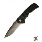 Enlan Bald Damascus G10 Liner Lock Tin (Black)