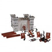 Segolike 56 Pieces Kids Castle Building Blocks Royal Knight Guards Battle Game Children Toy Gift