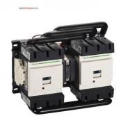 Schneider Electric, Forgásirányváltó magneskapcsoló, 55kW/115A (400V, AC3), 400V AC 50/60 Hz vezerlés, 1Z+1Ny, csavaros csatlakozás, TeSys D Everlink (Schneider LC2D115V7)
