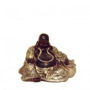 Happy Boeddha Zwartzilver Dierenurn (ca. 0.1 liter)