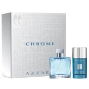 Azzaro Chrome Gift Set - EDT 50ml + Deo Stick 75gr за мъже