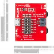 Modul încărcător LiPo ajustabil SparkFun
