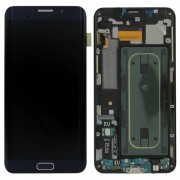 GSM LCD schermen Samsung Galaxy S6 Edge+ LCD + Touchscreen - Zwart voor Samsung Galaxy S6 Edge+ SM-G928F