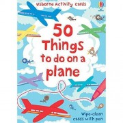Leonie Pratt 50 Things to Do on a Plane (Usborne Activity Cards) (Activity and Puzzle Cards)