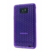 TPU Gel Case for Samsung I9100 Galaxy S2 - Samsung Soft Cover (Diamond Purple)