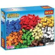 COGO DIY Toys Plastic Brick Toy Blocks Building Block Toys Construction Set Christmas Birthday Gift for Girls and Boys 550 Pieces - 3502