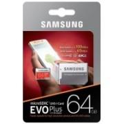 Samsung EVO PLUS 64 GB MicroSD Card Class 10 48 MB/s Memory Card