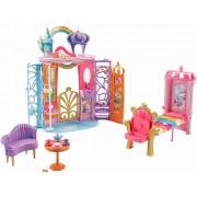 Set de joaca pentru papusa Barbie - Castelul curcubeu