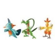 Set Figurine Pokemon Action Pose 3 Figure Set Grovyle Combusken Marshtomp