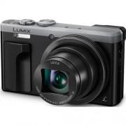 Fotoaparát Panasonic DMC-TZ80-S, 18 Mpx, 30x zoom 24mm, HOIS, 4K, WiFi, hľadáčik, strieborný