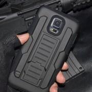 Удароустойчив Калъф Броня Hard Shell Stand Case За Samsung Galaxy J5