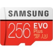 Samsung EVO Plus 256 GB MicroSDXC Class 10 100 Mbps Memory Card(With Adapter)