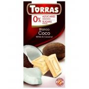 TR. No sug. add. 10. Kókuszos fehércsokoládé 75 g