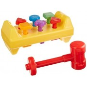 Fisher-Price Fisher Price Tap N Turn Bench Hammer Peg Toy Kids Baby Toddler Children Pound Game Babies Infants Pounding Tool