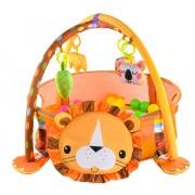 Centru Educational de Joaca si Activitati cu Animale si 30 Bile Colorate pentru Copii 0+