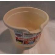 Mixerhez műanyag keverőedény 1 l vajszín (170)