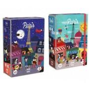 Puzzle Londji Noapte si zi la Paris