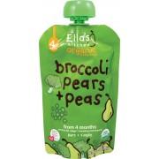 Ellas Kitchen Purée Broccoli, Päron & Ärtor - 120 Gram