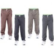 K-TEX Multi Hosiery Trackpants Pack of 4