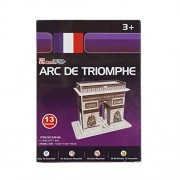 Asian Hobby Crafts Mini 3D Puzzle World's Greatest Architecture Series - Arc De Triomphe