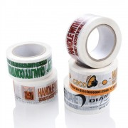 Banda Adeziva Personalizata, 48mm x 66m, Tipar 4 Culori, Adeziv Acrilic, Scotch Personalizat, Benzi Adezive pentru Ambalare Personalizate